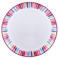 Home Stems Melamine Plate