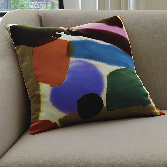 Luli Watercolor Pillow