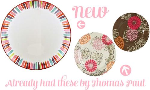 Home Stems Melamine Plates  sc 1 st  Making it Lovely & Home Stems Melamine Plates - Making it Lovely