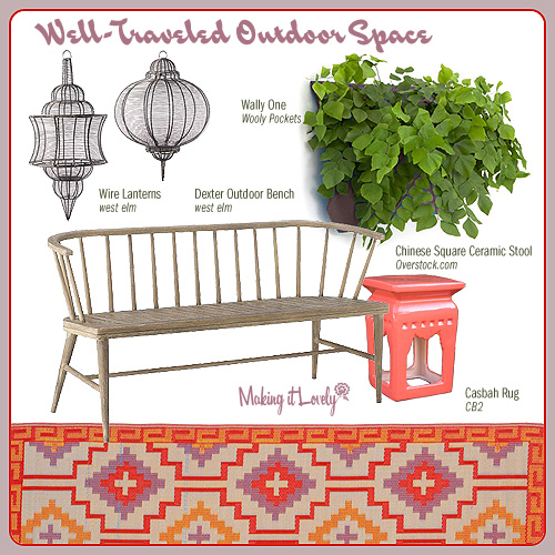 Well-Traveled Outdoor Space