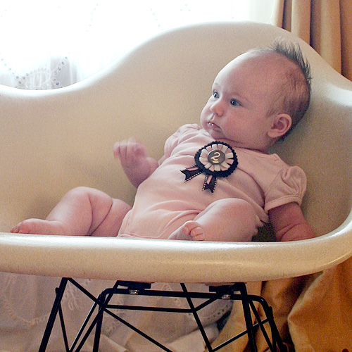 Eleanor, Two Months Old (Outtake)