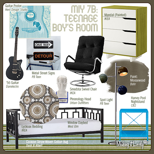 MiY 7b: Teenage Boy's Room