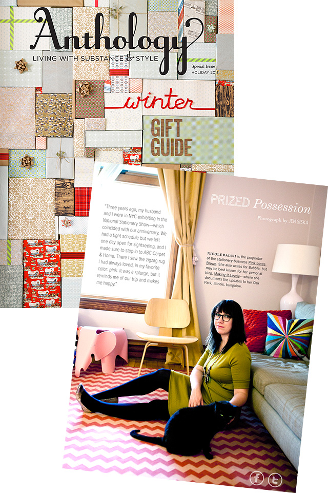 Anthology Winter Gift Guide