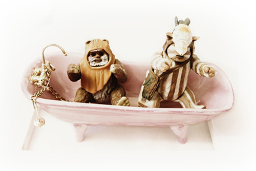 Star Wars Guys in Bathtub