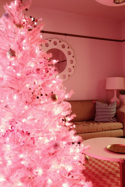 Pink Christmas - Making it Lovely