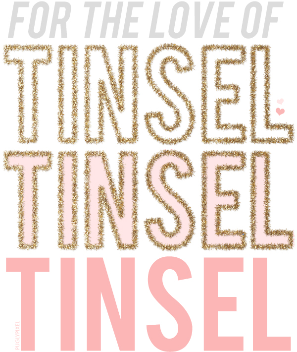 Tinsel Photoshop Brush