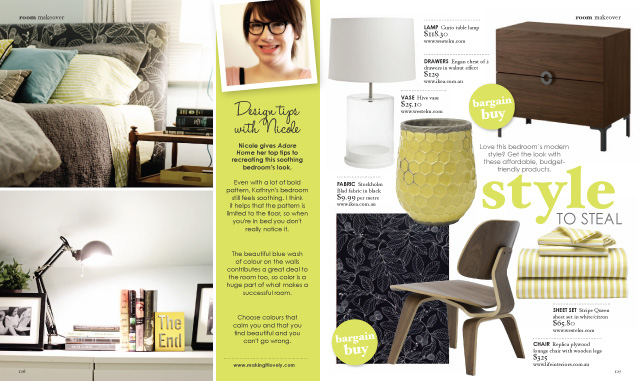 kathryn s bedroom in adore home magazine making it lovely decor and dior adore home magazine