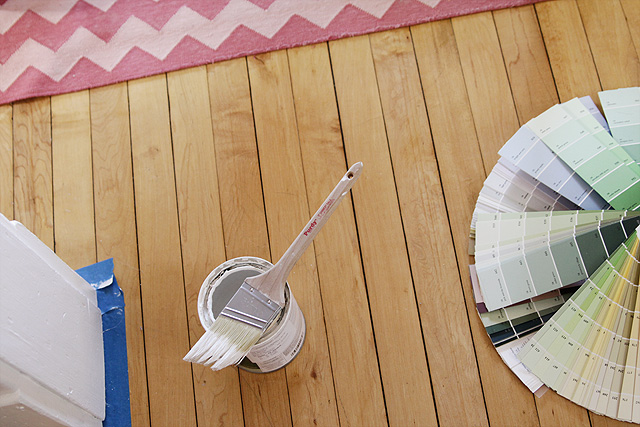 Benjamin Moore Paint and Fan Decks