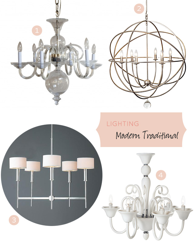 Lighting: Modern Traditional