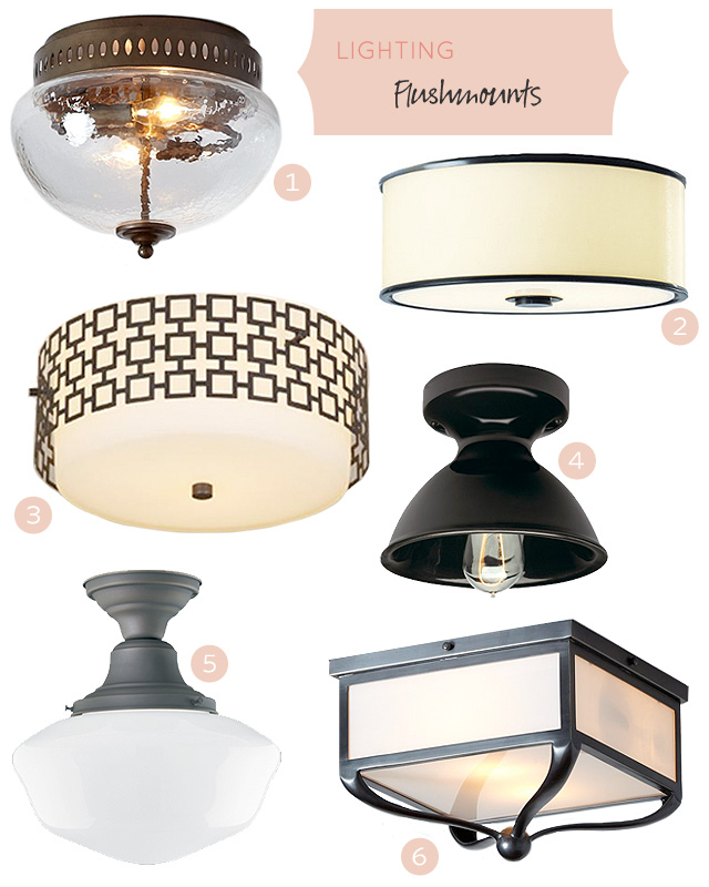 Flushmount Lighting Fixtures