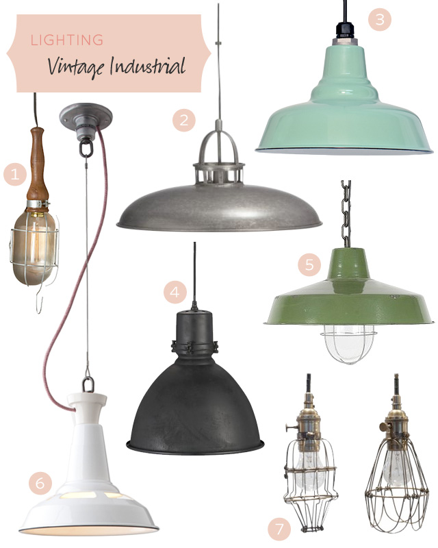 Vintage Industrial Lighting