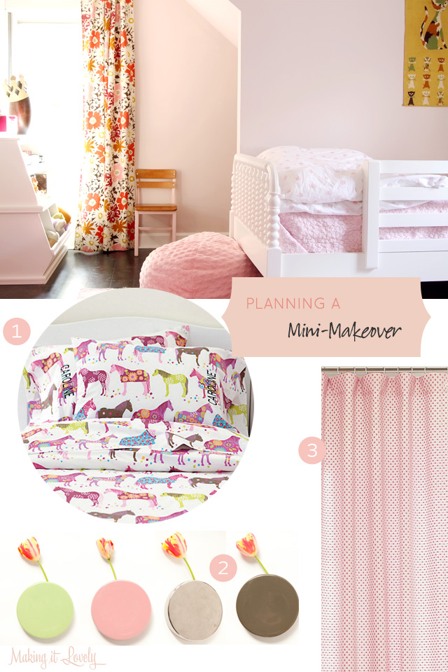 Planning a Mini-Makeover for Eleanor's Room