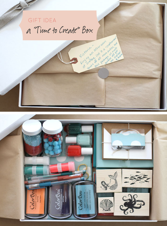 "Gift Idea: A ""Time to Create"" Box"