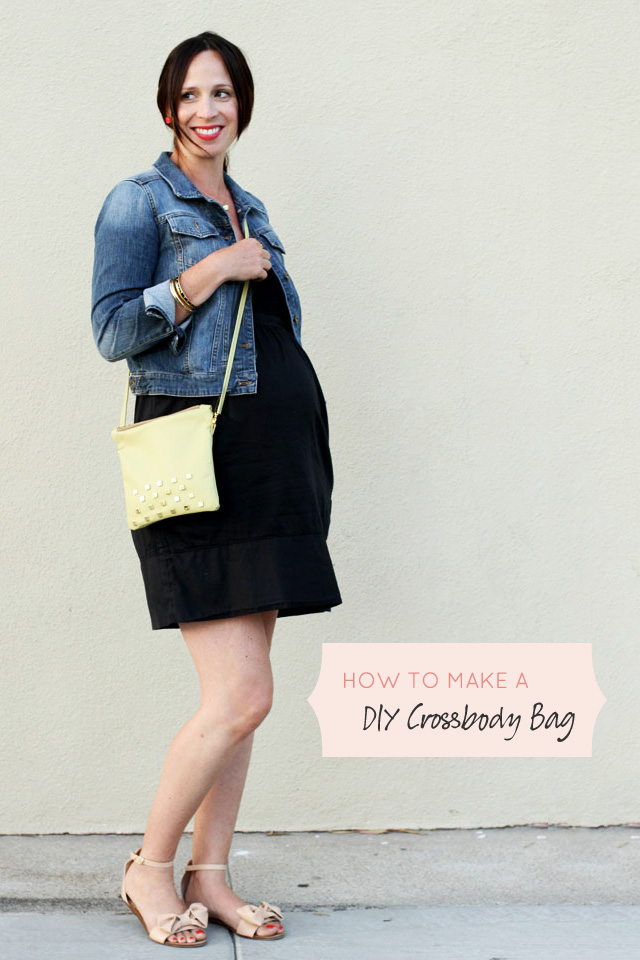 How to Make a DIY Crossbody Leather Bag
