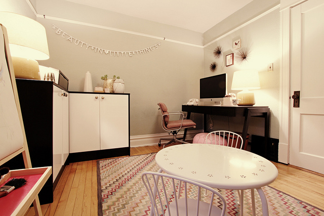 Making it Lovely's Home Office