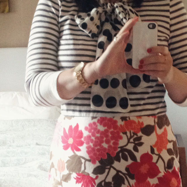 Stripes and Florals and Polka Dots… Oh My!
