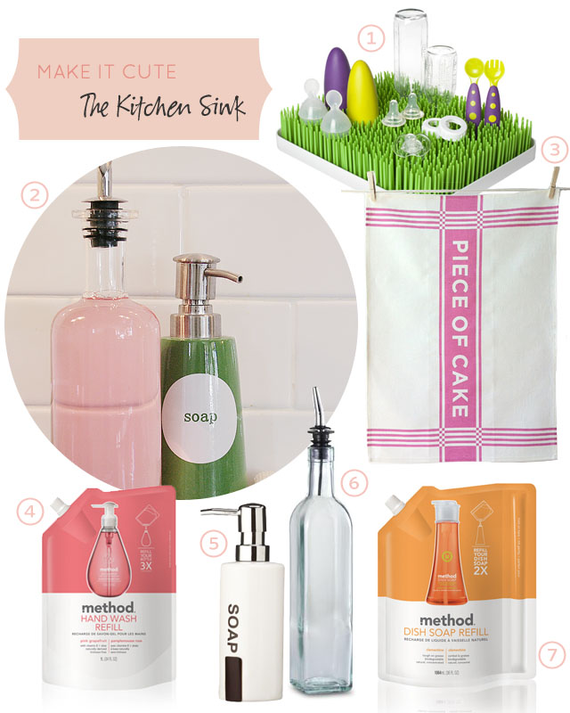 Make it Cute: The Kitchen Sink