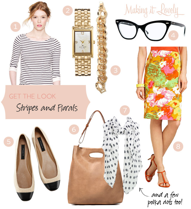 Style: Stripes and Florals (and a Few Polka Dots Too!)