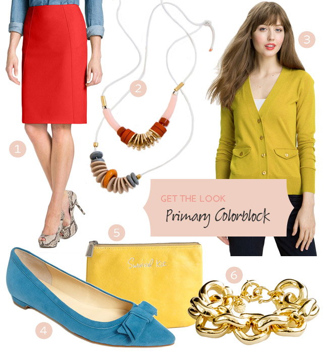 Style: Primary Colorblocking #MakingitLovely #Nordstrom