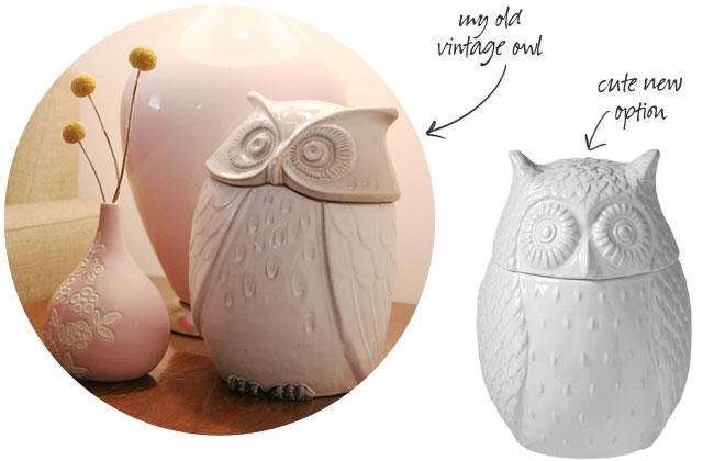 Owl Cookie Jars
