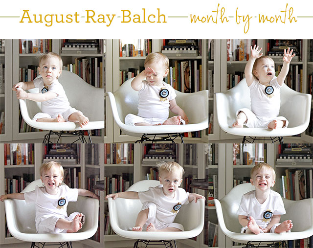Eighteen Months Old (August's Monthly Photo)