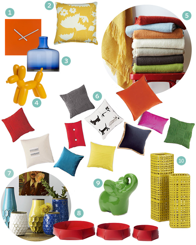 Colorblocking for the Home