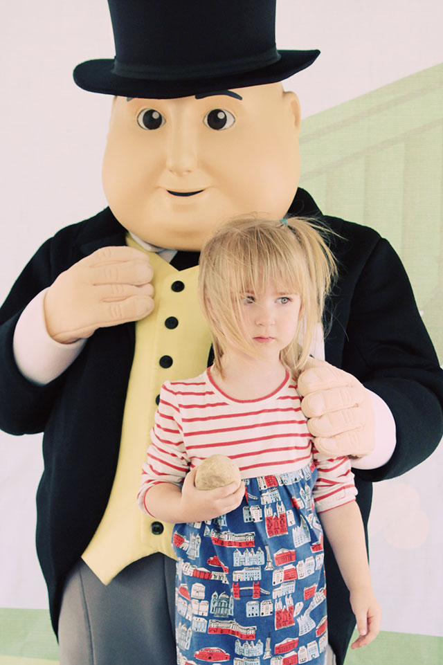 Eleanor Meets Sir Topham Hatt