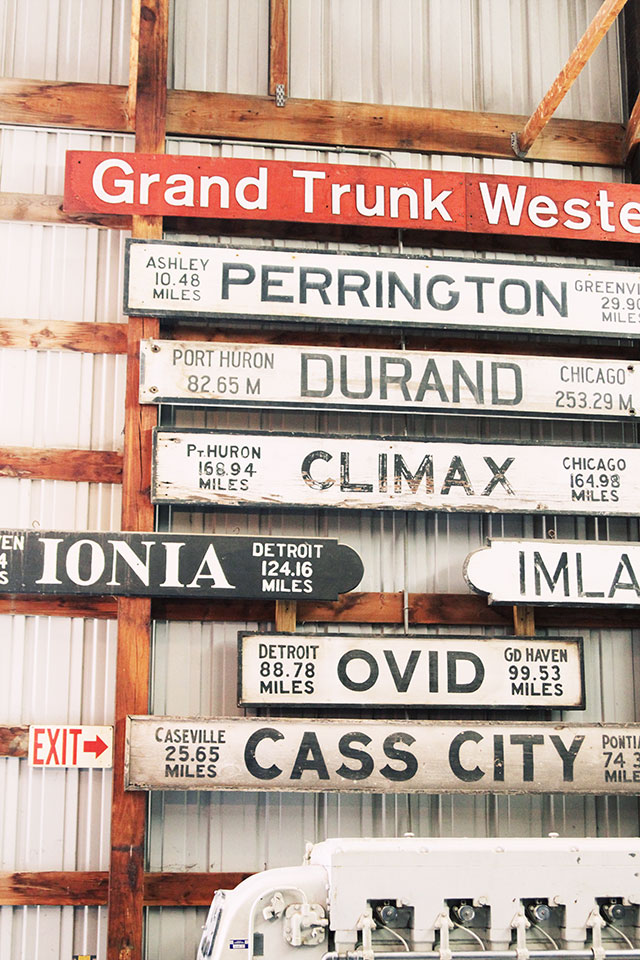 Cool Old Railroad Signs