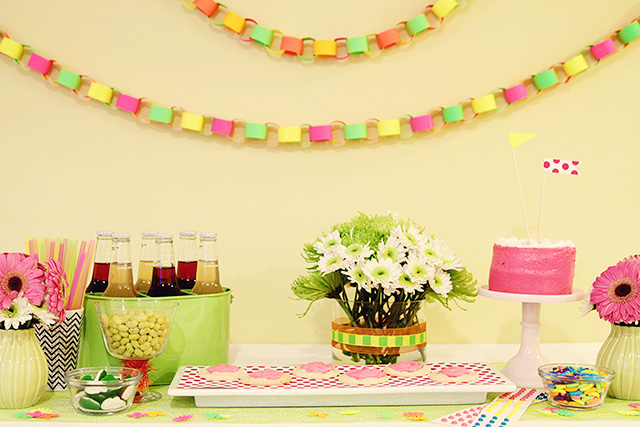 Neon Birthday Party Theme