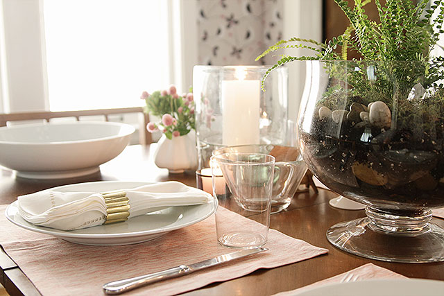 Pottery Barn Table Setting Challenge