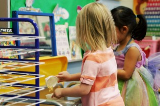 Eleanor at Preschool