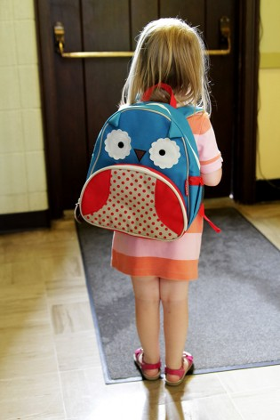 Eleanor and Her Owl Backpack