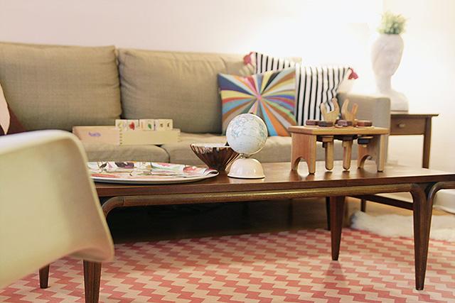 Making it Lovely's Living Room