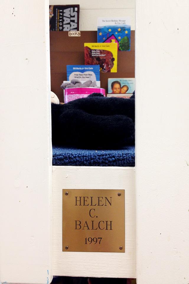 Helen C. Balch's Classroom Loft