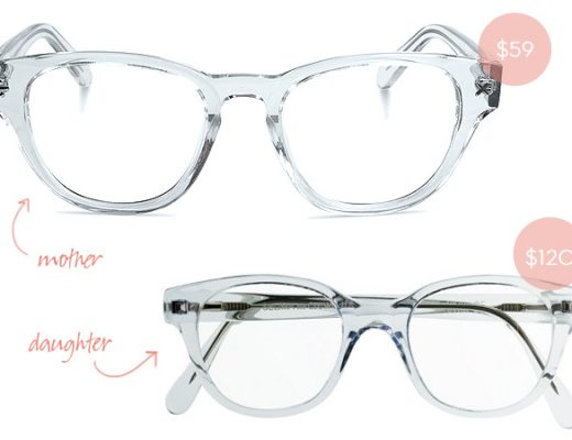 Mother/Daughter Matching Glasses