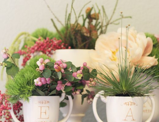 How to Make DIY Monogrammed Ceramics