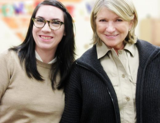 Nicole Balch and Martha Stewart