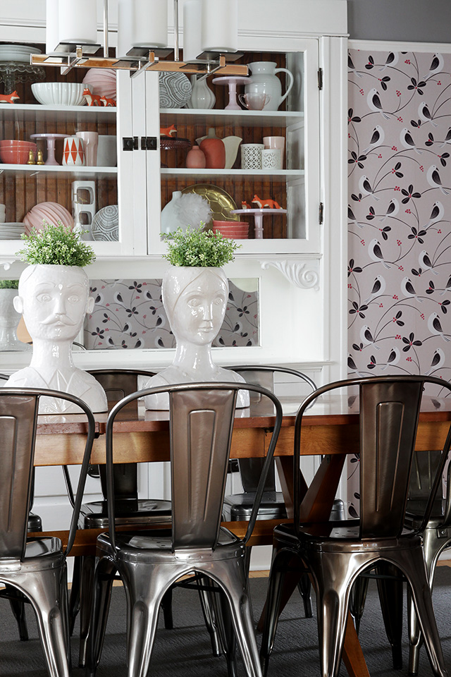 New Marais Chairs In The Dining Room Making It Lovely