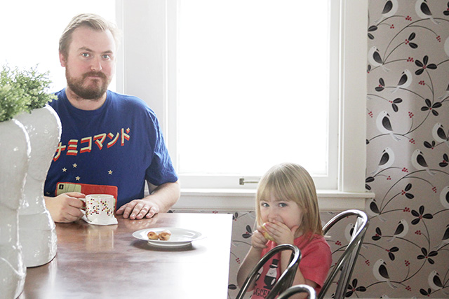 Brandon and Eleanor in the Dining Room
