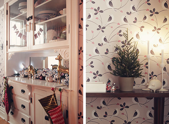 Dining Room Christmas Details