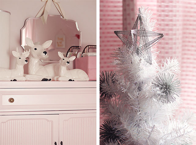 Eleanor's Room, Decorated for Christmas