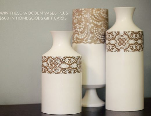 HomeGoods Vases and Gift Card Giveaway from Making it Lovely