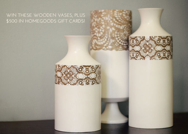 HomeGoods Vases and $500 Gift Card Giveaway from Making it Lovely