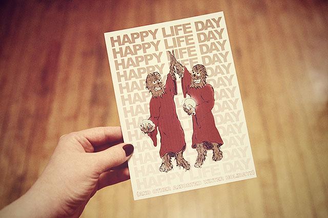 Happy Life Day