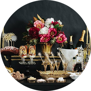 New Year's Eve / Holiday Decorating and Entertaining Ideas