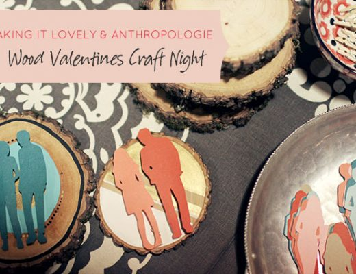Wood Valentines Craft Night