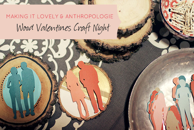 Wood Valentines Craft Night