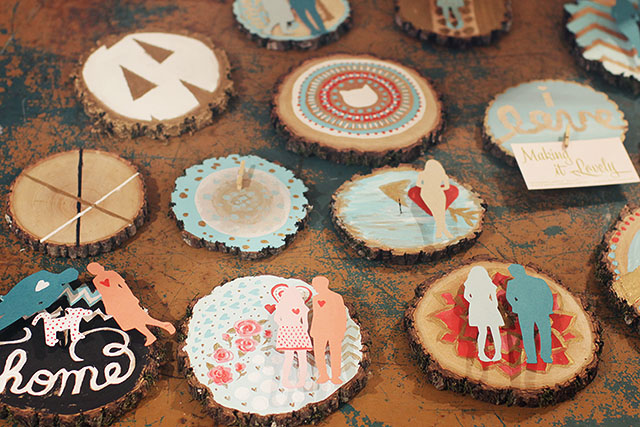 Wood Valentines