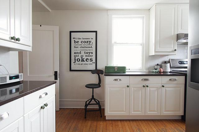 All-White Kitchen