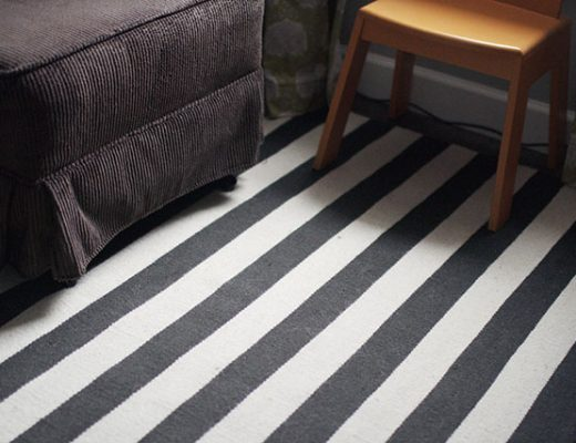 Dwell Studio Draper Ink Striped Rug